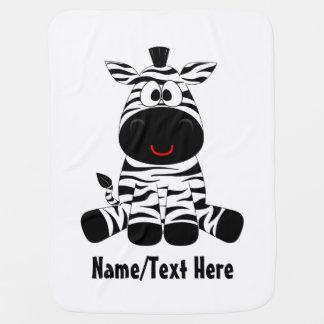 Zebra baby is cute baby blanket