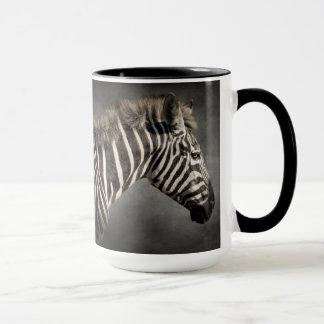 Zebra Black and White Animal Print Chic Modern Mug