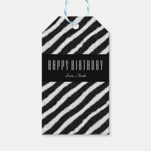 Black And White Stripes Gift Tags Gift Enclosures Zazzle Ca