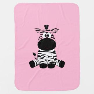 Zebra Blanket for Baby Girl Stroller Blankets