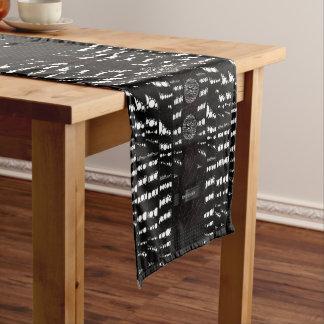 Zebra Bling Unique Pattern Short Table Runner