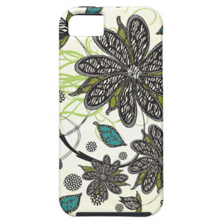 """Zebra Blooms"" iPhone iPhone 5 Cover"