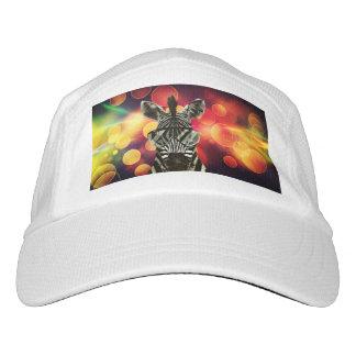 Zebra Bokeh Style Headsweats Hat