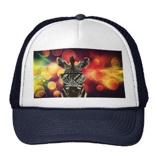 Zebra Bokeh Style Trucker Hat