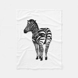 Zebra Butt blanket