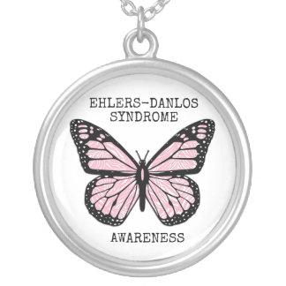 Zebra Butterfly EDS  Necklace