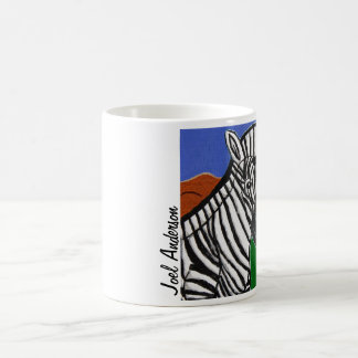 Zebra by Joel Anderson Coffee Mug