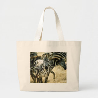 Zebra Canvas Beach Duffel Bag