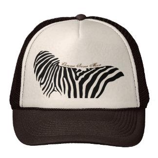 Zebra Cap Trucker Hat