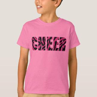 Zebra Cheerleading Shirt