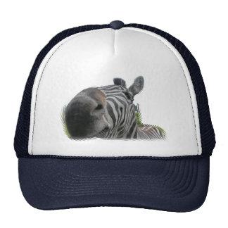 Zebra Closeup Trucker Hat