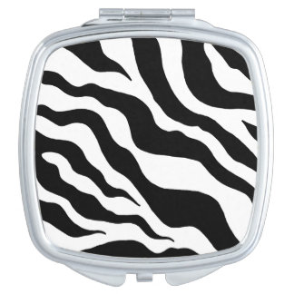 Zebra Compact Travel Mirror