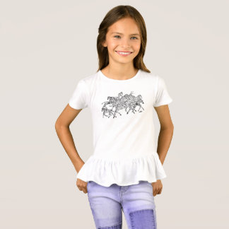 Zebra Confusion Camouflage (Light) T-Shirt