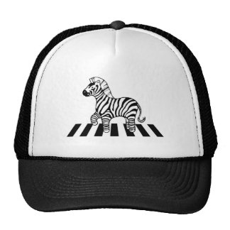 Zebra Crossing Hats