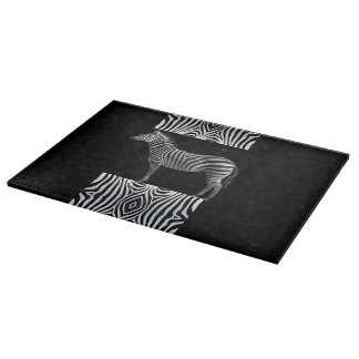 Zebra Cutting Board