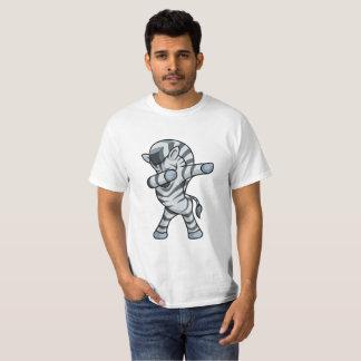 Zebra Dabbing T-Shirt Mens Dab Dance
