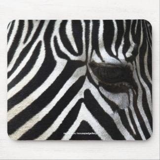 Zebra Eye African Horse Wildlife Mousepad