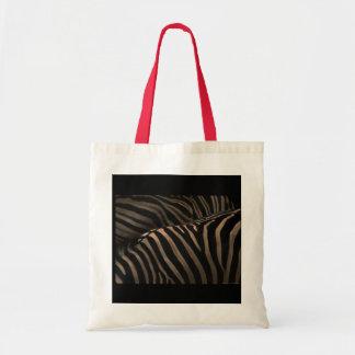 Zebra fabric Bag-stock market zebra