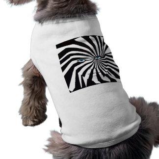 Zebra face dog coat dog shirt