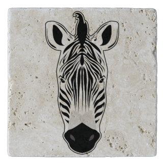 Zebra Face Trivet