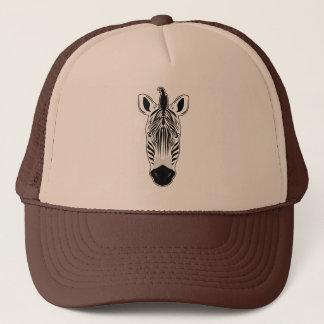 Zebra Face Trucker Hat