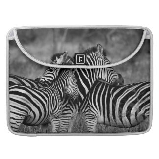 Zebra Family MacBook Pro Sleeves