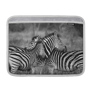 Zebra Family Sleeves For MacBook Air