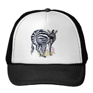 Zebra Fat Butt Hats