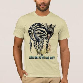 Zebra Fat Butt Shirts