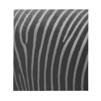 zebra Faux Fur Gifts Notepads