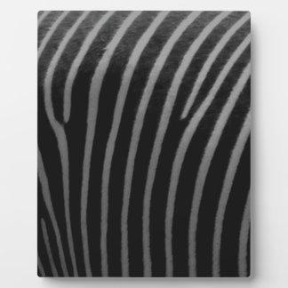 zebra Faux Fur Gifts Plaques