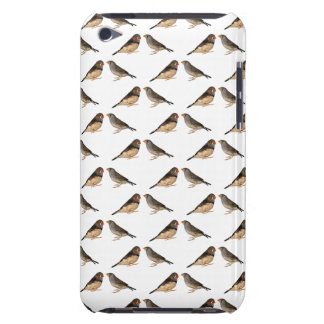 Zebra Finch Frenzy iPod Case