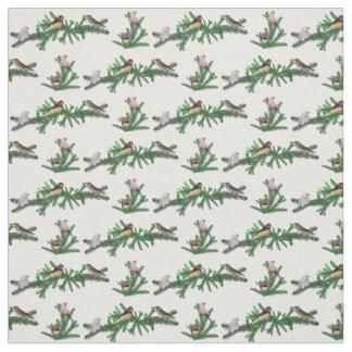 Zebra Finch Party Fabric (choose colour)