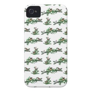 Zebra Finch Party iPhone 4 Case (choose colour)