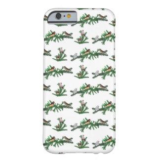 Zebra Finch Party iPhone 6 Case (choose colour)