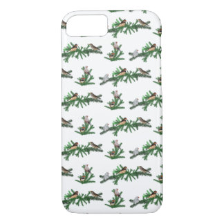 Zebra Finch Party iPhone 8/7 Case (choose colour)