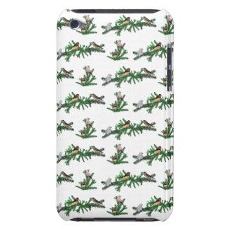 Zebra Finch Party iPod Touch Case (choose colour)