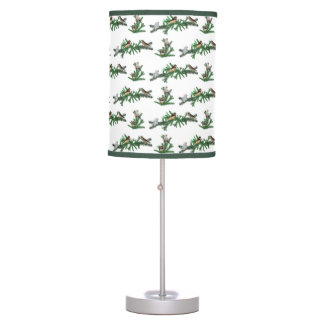 Zebra Finch Party Lamp (choose colour)