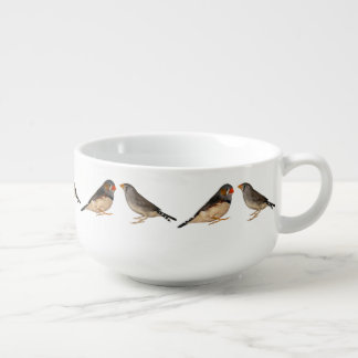 Zebra Finches Soup Mug