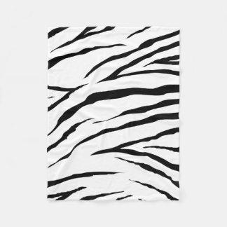 "Zebra Fleece Blanket, 30""x40"""