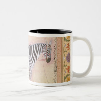 Zebra, from the 'Minto Album', 1621 (gouache on pa Two-Tone Coffee Mug