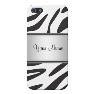 Zebra Fur I iPhone 5 Case