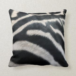 """Zebra """"Fur"""" Pillow"""