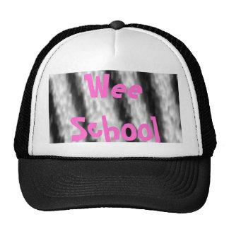 zebra fur, WeeSchool Trucker Hat