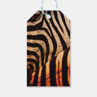 zebra gift tags