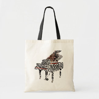 Zebra Grand Piano ~ Bag