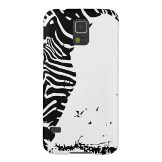 Zebra Grazing Galaxy S5 Cover