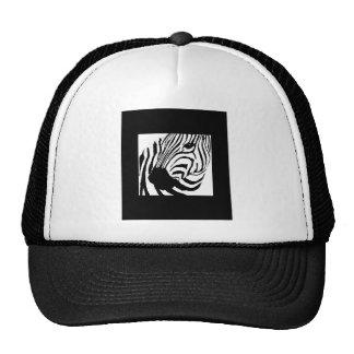 ZEBRA MESH HATS