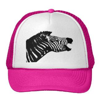 Zebra Trucker Hats