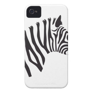 ZEBRA HEAD ART iPhone 4 COVERS